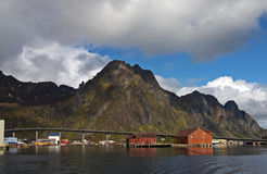 Svolvaer royalty free stock images