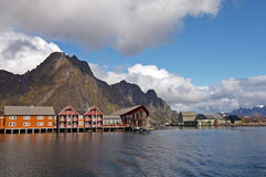 Svolvaer Royalty Free Stock Photo