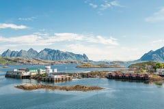 Svolvaer, Lofoten Stock Photo