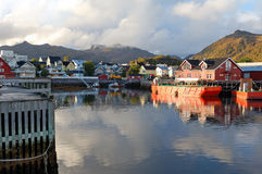 Svolvaer Norway Stock Photography