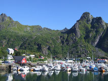 Svolvaer, Norway Royalty Free Stock Photos