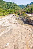 Svuotamento dell'acqua Fotografia Stock Libera da Diritti