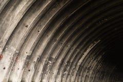 Svuoti il fondo abbandonato di struttura del capannone Immagini Stock Libere da Diritti