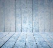 Svuoti il fondo di legno del pannello del ghiaccio e pavimento o tavola di legno del ghiaccio Fotografia Stock Libera da Diritti