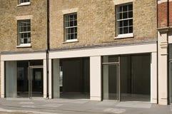 Svuoti il negozio a Londra Immagini Stock