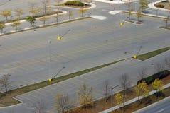 Svuoti il parcheggio Fotografia Stock Libera da Diritti