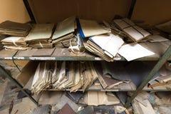 Svuoti l'ufficio distrutto immagini stock libere da diritti