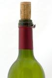 Svuoti la bottiglia di vino Immagine Stock Libera da Diritti