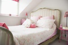 Svuoti la camera da letto Fotografie Stock Libere da Diritti