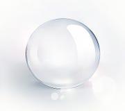 Svuoti la sfera di vetro Fotografia Stock Libera da Diritti