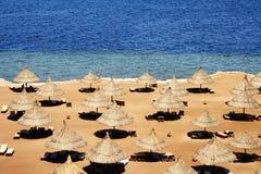 Svuoti la spiaggia Immagini Stock