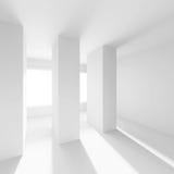 Svuoti la stanza con la finestra Immagini Stock