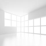 Svuoti la stanza con la finestra Immagine Stock