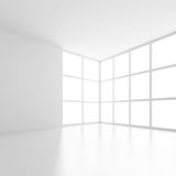 Svuoti la stanza con la finestra Fotografia Stock