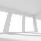 Svuoti la stanza con la finestra Immagine Stock Libera da Diritti