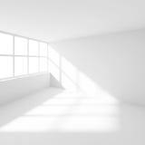 Svuoti la stanza con la finestra Immagini Stock Libere da Diritti