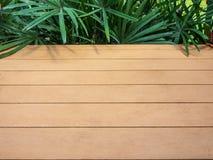Svuoti la superficie del legno Fotografia Stock