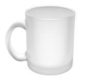Svuoti la tazza di vetro Fotografie Stock