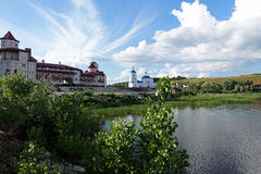 Svyato-Bogorodicky修道院Vinnovka 库存照片