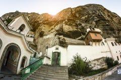 Svyato-Uspensky cave monastery, Chufut-Kale, Crimea Stock Photography