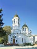 Svyato-Voznesensky domkyrka av den ryska ortodoxa kyrkan av MoskvaPatriarchatestiftet av Novorossiysk i Gelendzhik Royaltyfri Fotografi