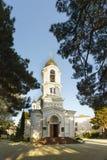 Svyato-Voznesensky domkyrka av den ryska ortodoxa kyrkan i staden av Gelendzhik Royaltyfri Bild