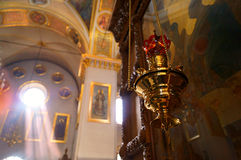 Svyatogorsk-Kloster in Ukraine Lizenzfreie Stockfotografie