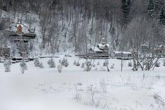 Svyatogorye 圣洁春天gremyachiy Klyuch 免版税库存照片