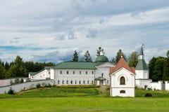 Tomb Panaeva with a chapel Royalty Free Stock Photo