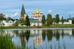 Svyatoozersky Monastery Stock Photos