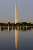 swój pomnikowa odbicia Washington woda zdjęcia royalty free