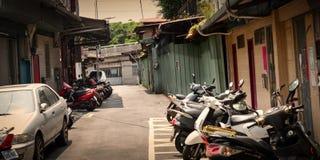 Swój Stary historyczny dom w Wanhua Taipei Tajwan Zdjęcia Stock