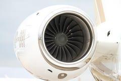 SW Business Aviation Gulfstream G280 in Istanbul Airshow. ISTANBUL, TURKEY - SEPTEMBER 30, 2018: SW Business Aviation Gulfstream G280 showcases in Istanbul stock images