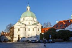 Sw Kazimierz kościół Zdjęcia Royalty Free