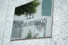 121 SW Morrison Royalty-vrije Stock Foto's