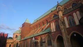 SW Wroclaw Katedra Jana Chrzciciela стоковая фотография