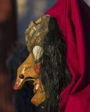 Swabian-Alemannic Carnaval in Buehl, Zuiden Germany_ Royalty-vrije Stock Foto's
