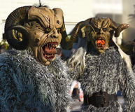 Swabian-Alemannic carnival in Buehl, South Germany_ Stock Images
