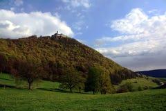 Swabian Alps. Schwaebische Alb / Swabian Alps near Castle Teck Stock Photos