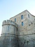 Swabian castle. Entrance of the Swabian castle of Frederick II Stock Photos