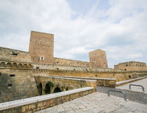 Swabian Castle in Bari, Puglia, Italy Stock Photography