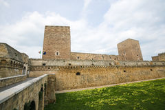 Swabian Castle in Bari, Puglia, Italy Stock Photo