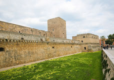 Swabian Castle in Bari, Puglia, Italy Royalty Free Stock Images