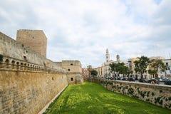 Swabian Castle in Bari, Puglia, Italy Stock Photo