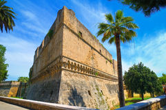 Swabian Castle of Bari. Puglia. Italy. Stock Images