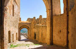 Free Swabian Castle Of Rocca Imperiale. Calabria. Italy. Stock Photo - 49134190