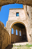 Swabian Castle of Rocca Imperiale. Calabria. Italy. Stock Photo