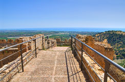 Swabian Castle of Rocca Imperiale. Calabria. Italy. Royalty Free Stock Image