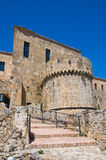 Swabian Castle of Rocca Imperiale. Calabria. Italy. Royalty Free Stock Images
