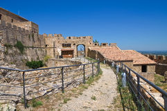Swabian Castle of Rocca Imperiale. Calabria. Italy. Royalty Free Stock Photography